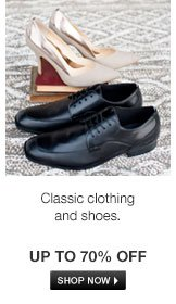 Classic clothing and shoes
