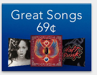 Great Songs: 69¢