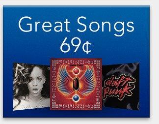 Great Songs: 69¢