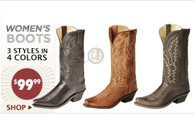 Womens 99.99 Boots