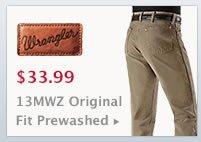 Mens Wrangler Prewashed Jeans