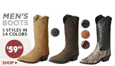 Mens 59.99 Boots