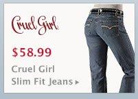 Womens Cruel Girl Slim Fit Jeans