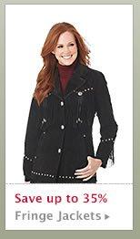 Womens Fringe Jackets