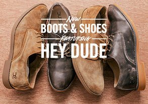 Shop Hey Dude: NEW Shoes & Boots