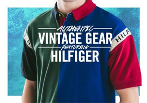 Shop Authentic Vintage Gear ft. Hilfiger