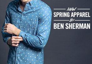 Shop Ben Sherman: NEW Spring Apparel