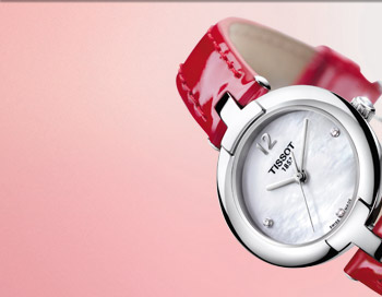 The new Tissot Pinky makes a thoughtful choice for her this Valentine's Day