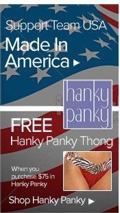 Free Hanky Panky Thong - See Details