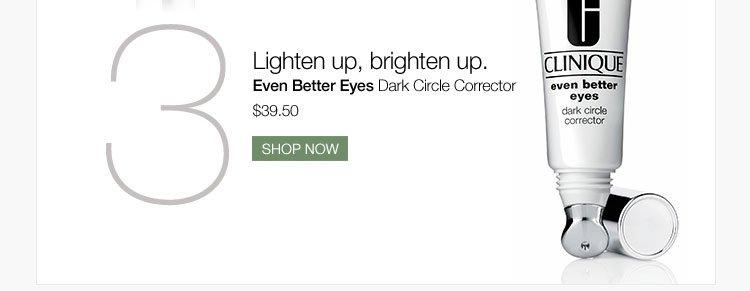 Lighten up, brighten up.