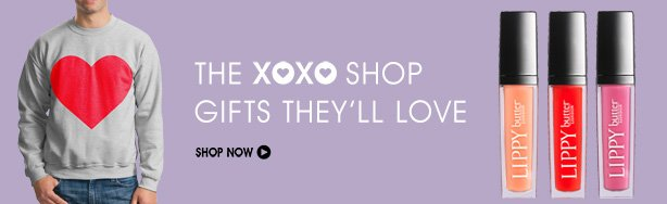XOXO Shop Gifts They'll Love