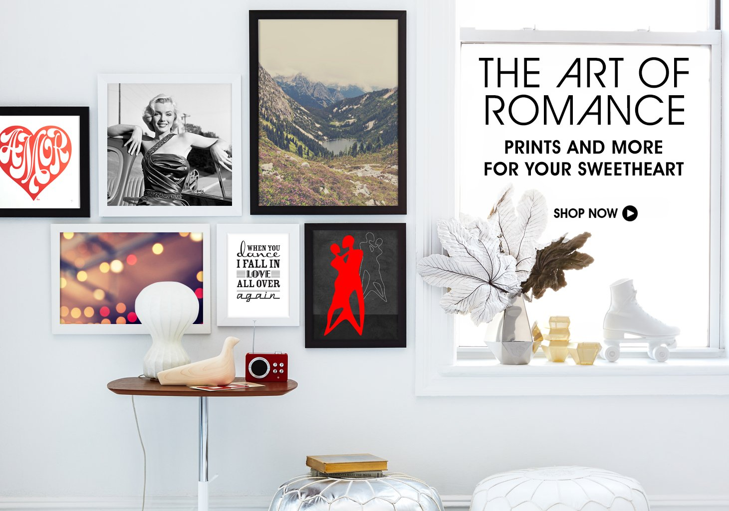 The Art Of Romance. Shop Prints & More For Your Sweetheart.