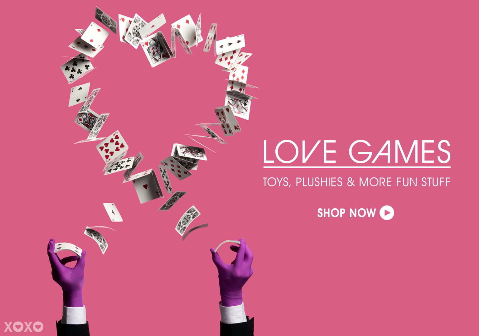 Love Games. Shop Toys, Plushies & More Fun Stuff.