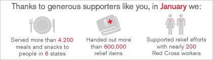 Thanks to generous supporters like you, in January we: