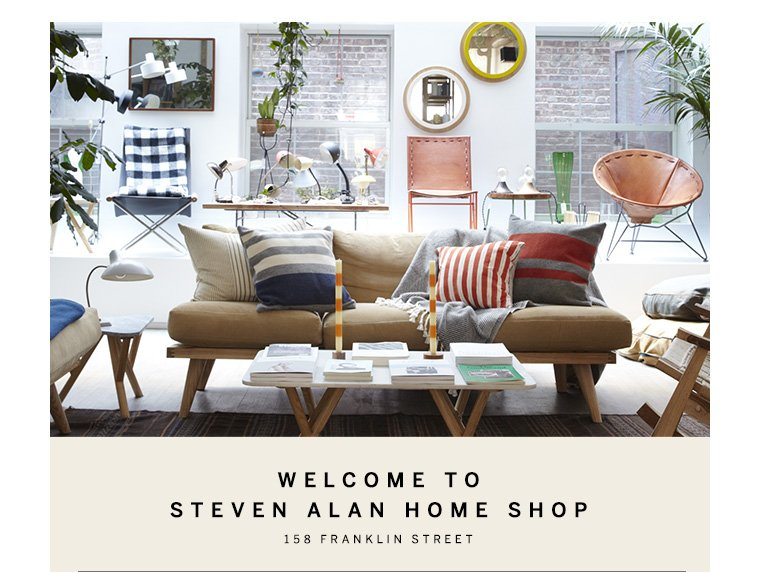 Shop Steven Alan x West Elm