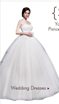 {Style princess} You dream of becoming a princess? Princess dress remains a key trend of 2014 WEDDING DRESSES