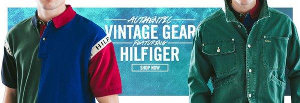 Shop Authentic Vintage Gear ft. Hilfiger