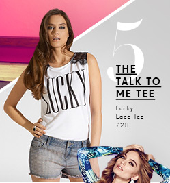 Lucky Lace Tee