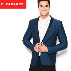 Winter Clearance! Designer Apparel for Him