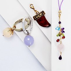 Accessories Clearance ft. Scarves, Charms, Key Rings