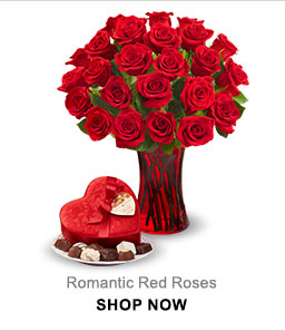 Romantic Red Roses Shop Now