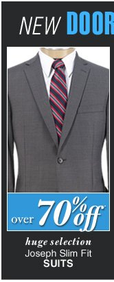 DOORBUSTER Joseph Slim Fit Suits - over 70%* off