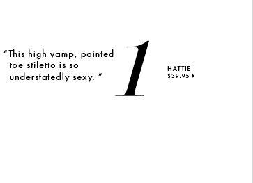 Hattie - $39.95