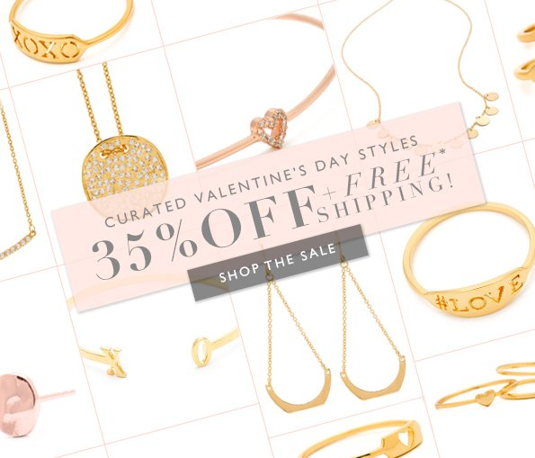 35% Off + Free Upgraded Shipping For Your Valentine!