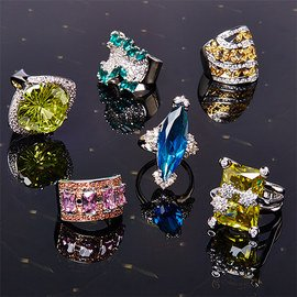 Add Some Glitz: Cocktail Rings