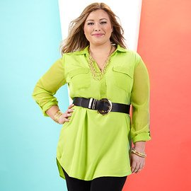 The Bright Way: Plus-Size Apparel