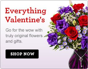 Everything Valentine's Go for the wow with truly original flowers & gifts! Shop Now
