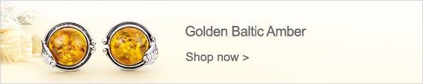 Golden Baltic Amber