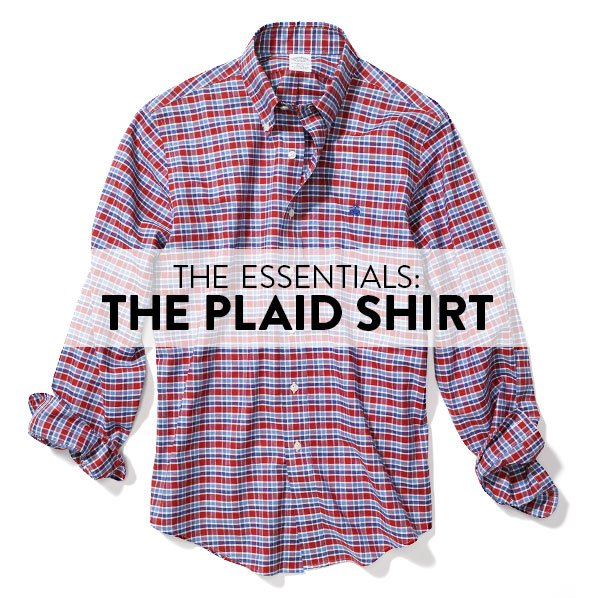 THE ESSENTIALS: THE PLAID SHIRT