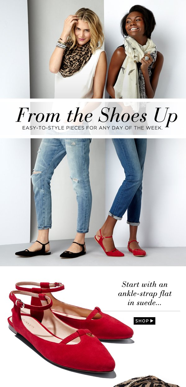 From the Shoes Up: Shop Now
