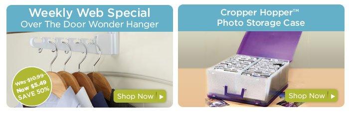 Weekly Web Special & Cropper Hopper