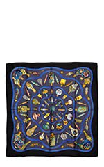 Qu'Import le Flacon by Catherine Baschet Perfume Silk Scarf