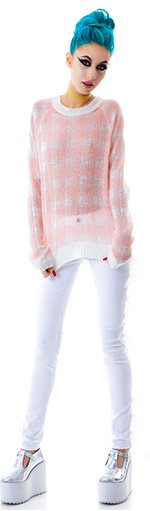 wildfox-couture-all-over-gingham-mini-70-s-sweater