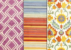 Lush & Lively: Colorful Rugs