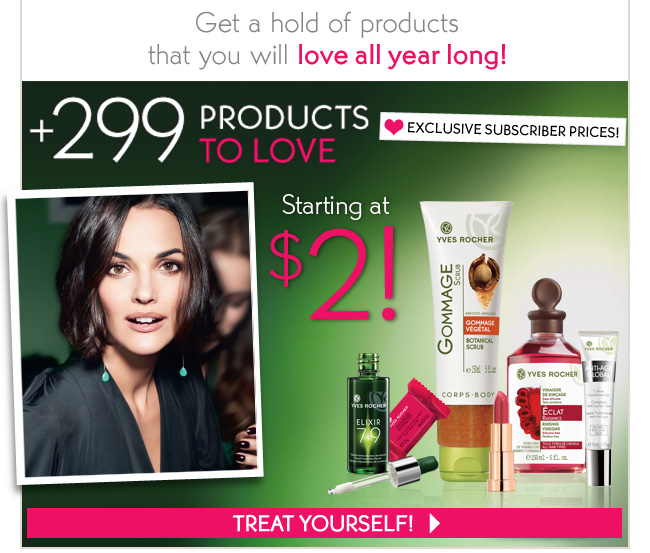 Get a hold of products that you will love all year long!