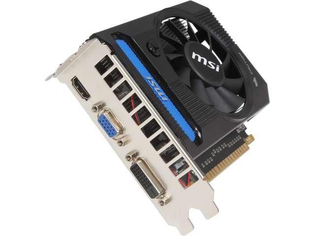 MSI GeForce GTX 650 Ti N650TI-1GD5/V1 Video Card