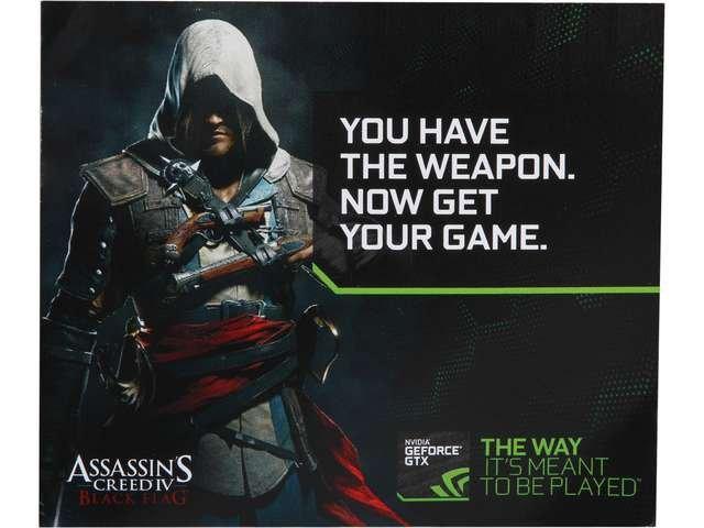 NVIDIA Gift - Assassin Creed4