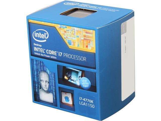Intel Core i7-4770K 3.5GHz LGA 1150 Quad-Core Desktop Processor