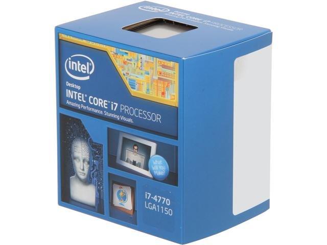Intel Core i7-4770 3.4GHz LGA 1150 Quad-Core Desktop Processor