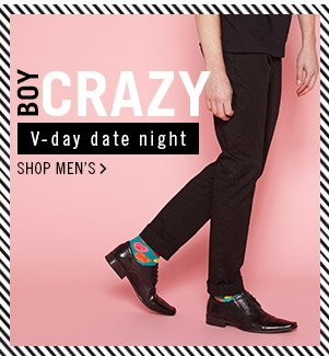 Boy Crazy! Shop Men's