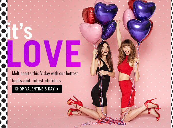It's Love! Shop Valentine's Day