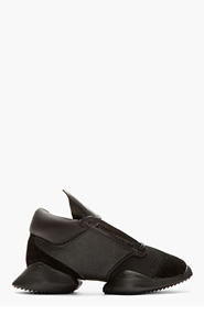 RICK OWENS Black Island Sole adidas Edition Sneakers for women