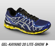Shop the Mens GEL-Kayano 20 Lite-Show - Promo A