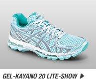 Shop the Women's GEL-Kayano® 20 Lite-Show - Promo D