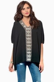 Tryst V Neck Top 37
