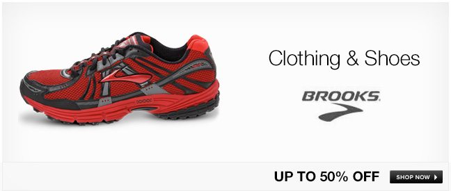 Brooks Clothing and Shoes